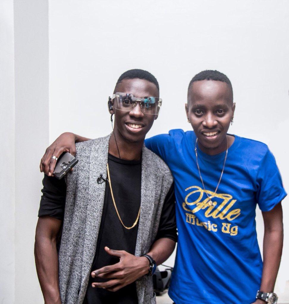 Douglas Lwanga has Joined MC Kats on his show,  NBS After5