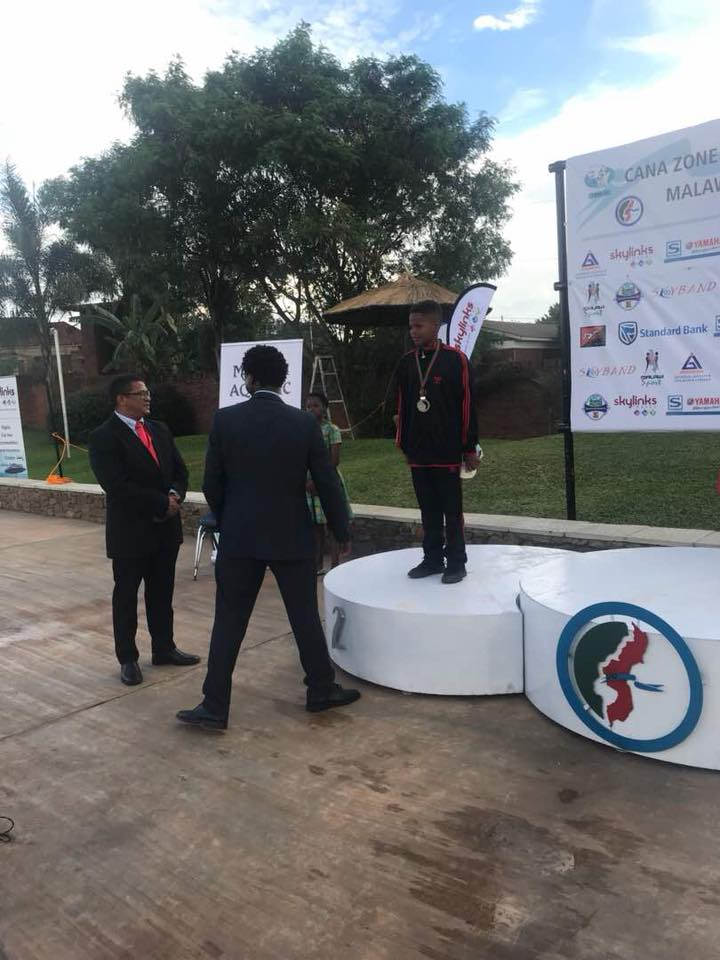 Abba Mayanja, son to Jose Chameleone Gets silver Medal at Cana Zone IV Championships