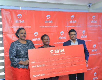 Airtel Partners With IIRR To buy 100 Goats For Girls in Karamoja