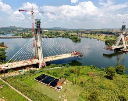 Jinja Nile Bridge Near to Completion