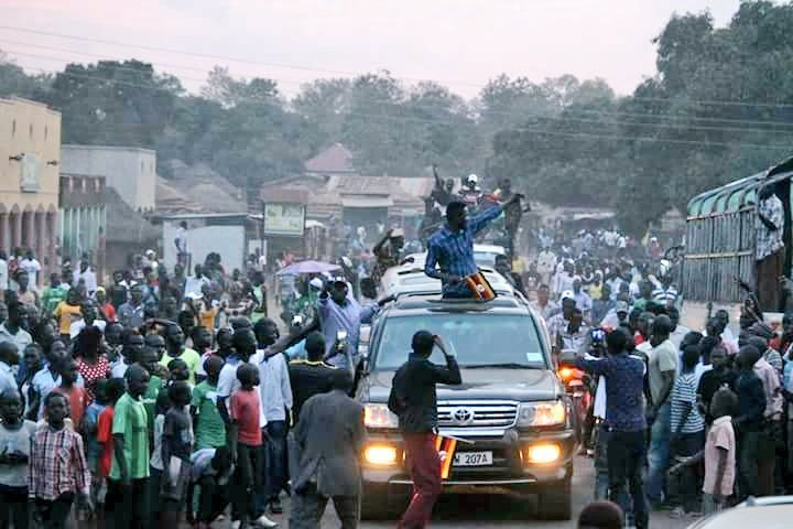 Bobi Wine Lights Up Adjumani Town on Women's Day