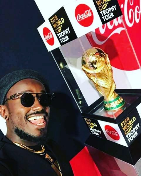 Ykee Benda Will be Performing at the 2018 World Cup in Russia