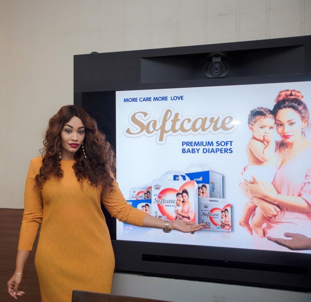 Zari Hassan New brand ambassador for SoftCare Diapers