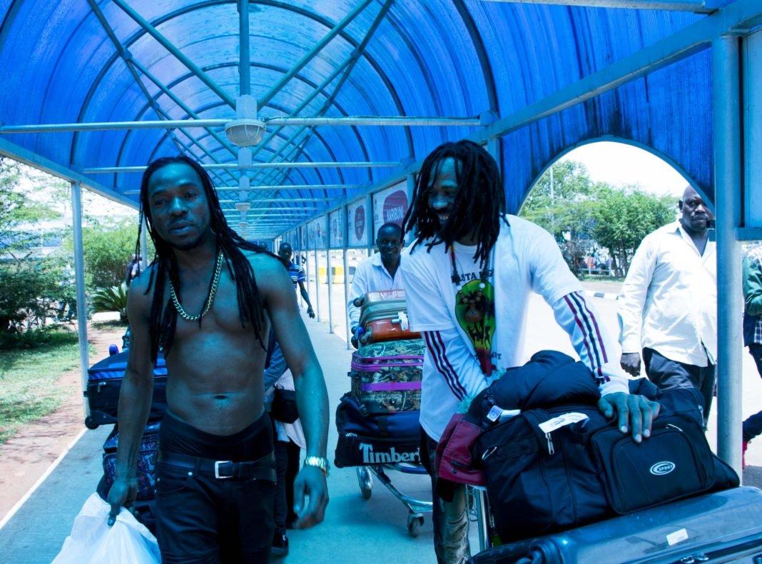 Jamaican Artist Kuzi Kz in Uganda Ahead of Reggae Fest