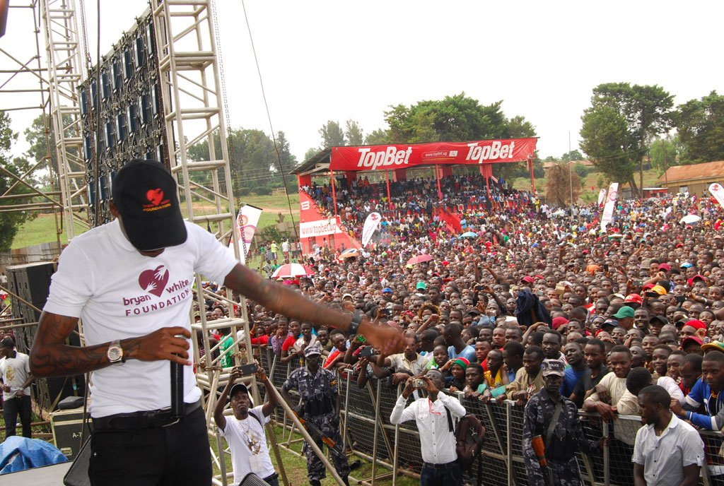 Bryan White Launches Foundation in Mbarara