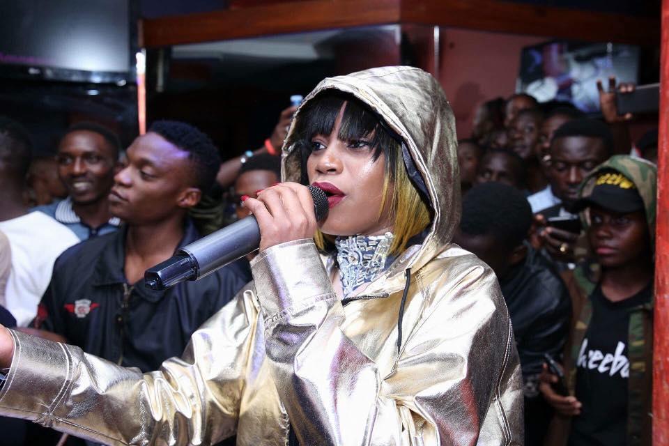 "Sheebah Premiers ""Mummy Yo"" video at guvnor Sponsored by Ciroc"