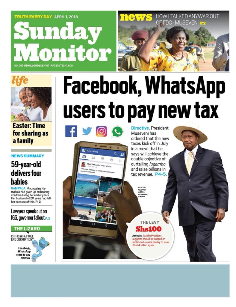 Social media tax is here, what next for Uganda