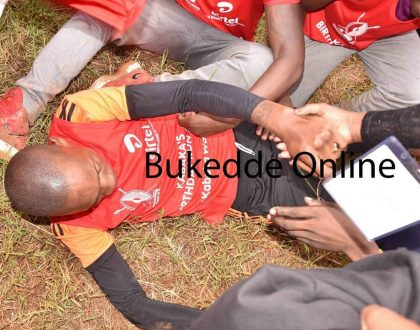Bryan White Almost Collapses at Kabaka's Run