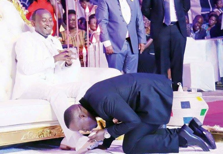 Prophet Elvis Mbonye goes furious about Museveni calling him a false prophet