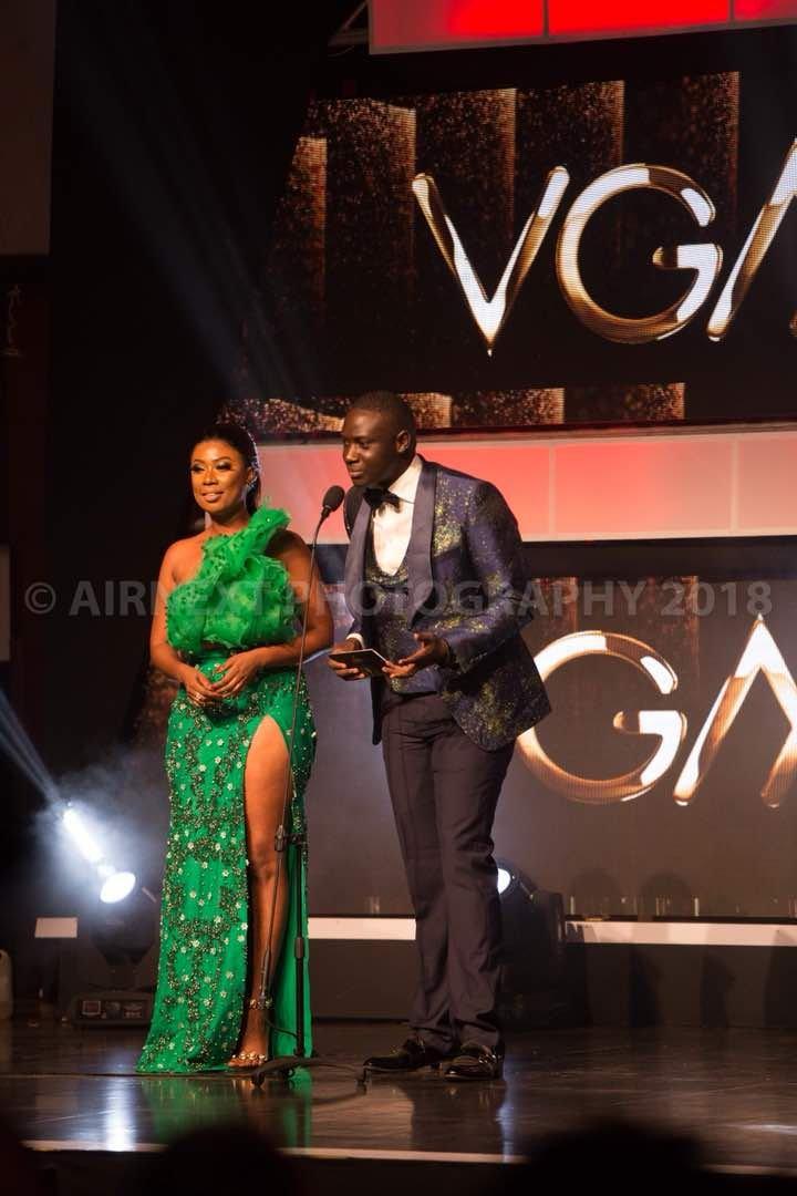 Kabs Haloha Hosts Ghana Music Awards Red Carpet