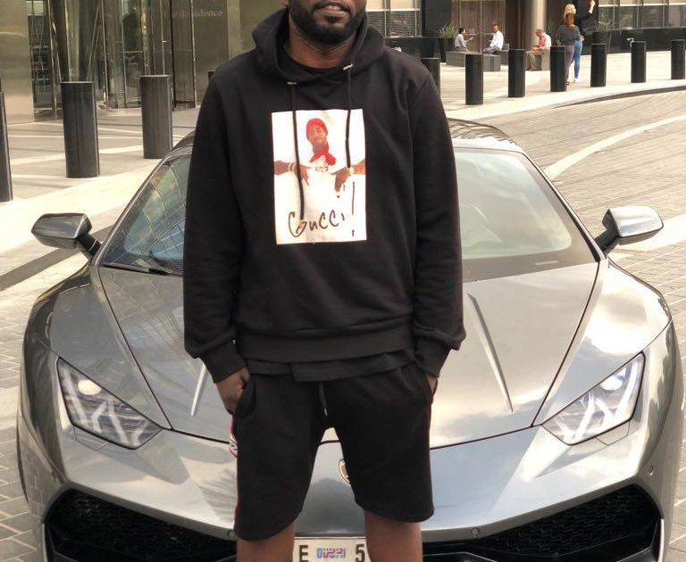 Ed Cheune flaunts New Lamborghini