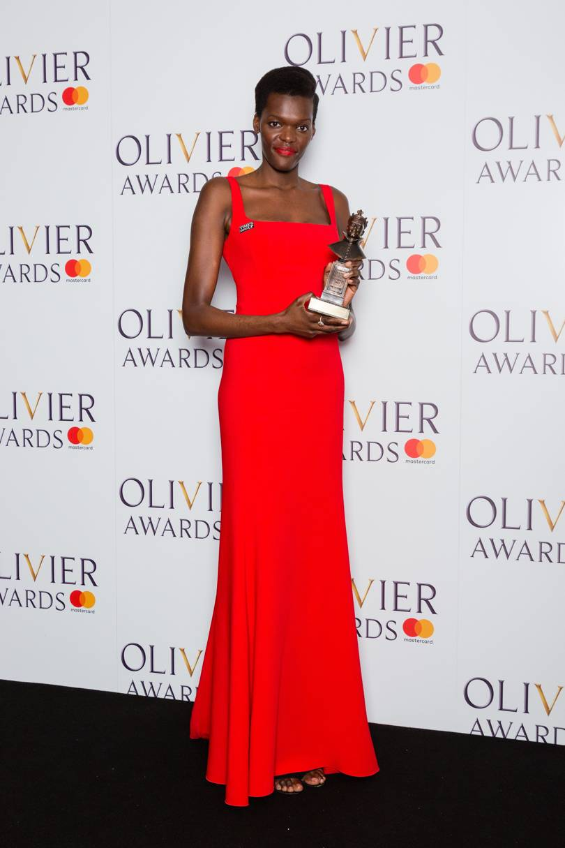 Ugandan Born Actress, Sheila Atim Grabs Accolade For Best Supporting Actress at the Laurence Olivier Awards