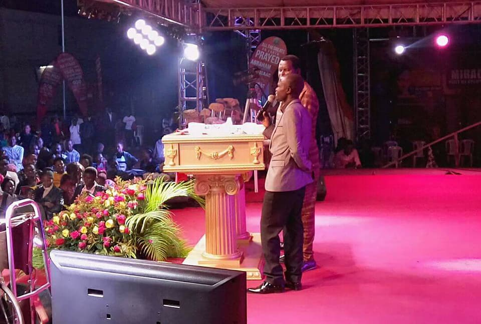 Ronald Mayinja Gives his life to Jesus Christ at 77 DOGs