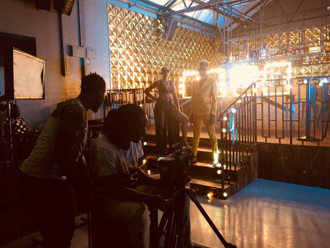 Apass Shoots New Video