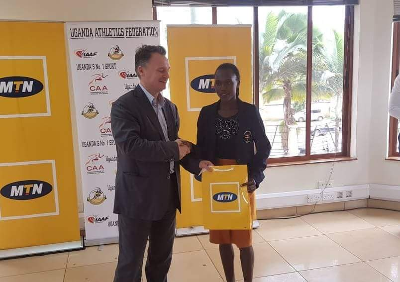 MTN Uganda Rewards Our Representatives at the Common Wealth games