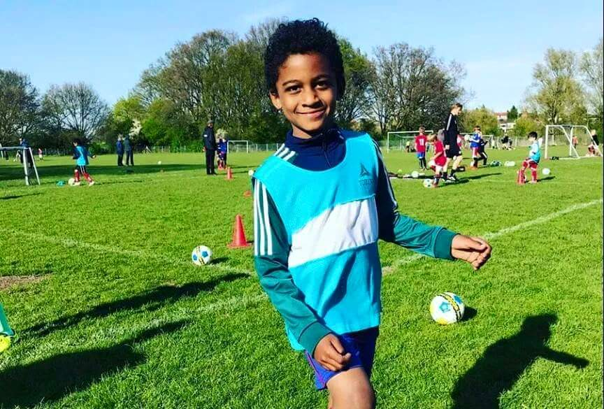 Mowzey Radio's son Theo Joins Soccer Academy in Europe