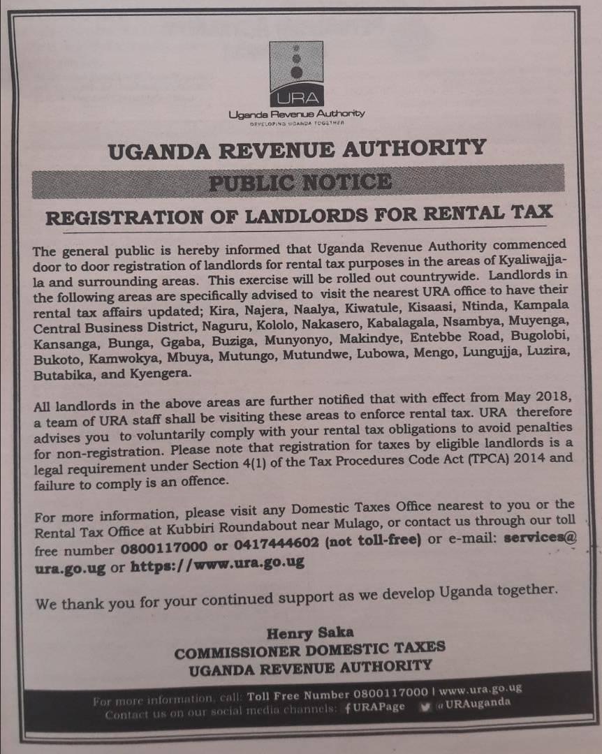 URA kicks off Landlord registration for rental tax collection