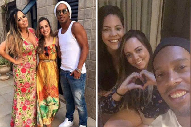 Football Star Ronaldinho to Marry his two fiancees at the same time