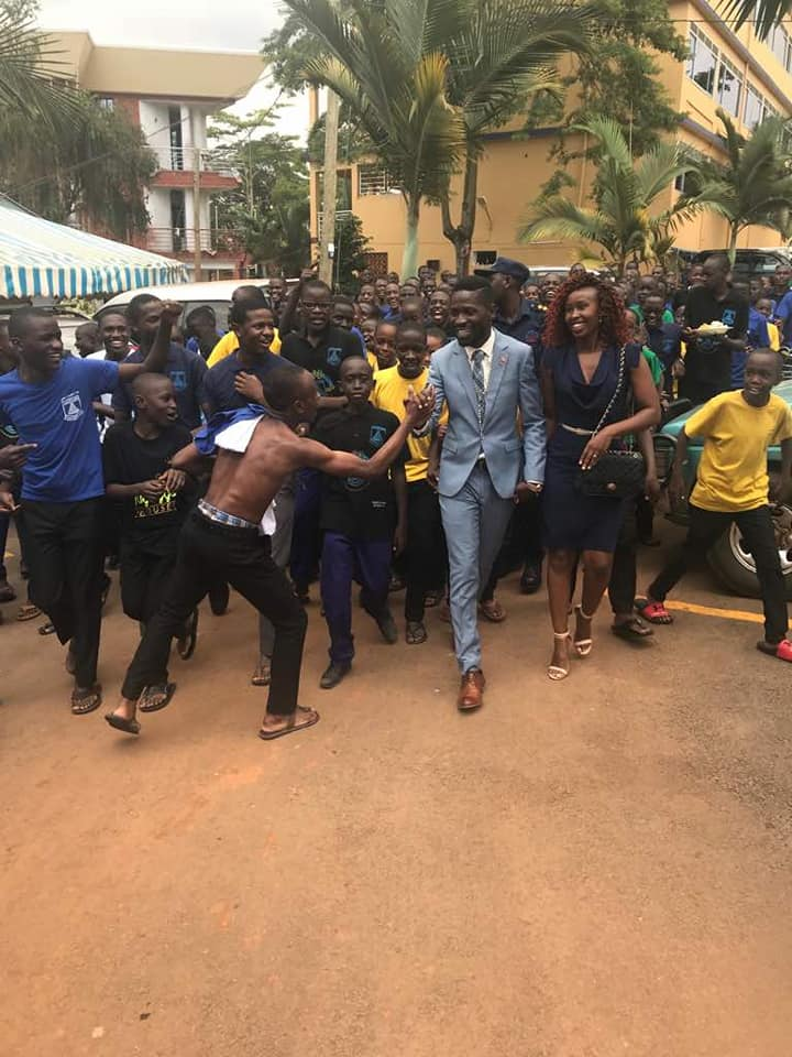 Bobi Wine Joins in Martyrs Day Celebrations