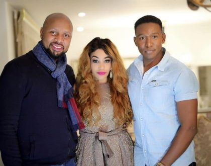 Zari Cooking Something For DSTV Channel