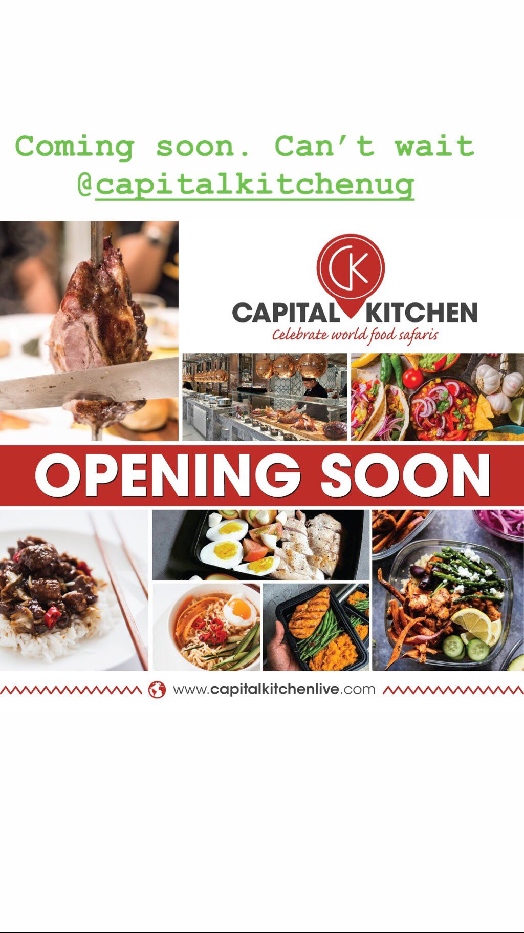 Capital Kitchen Is coming To Kampala