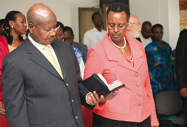 First Lady, Janet Museveni celebrates 70th Birthday