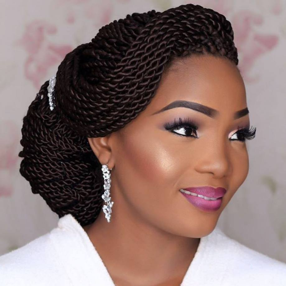 Bridal Braids: How To Style Your Box Braids For A Wedding