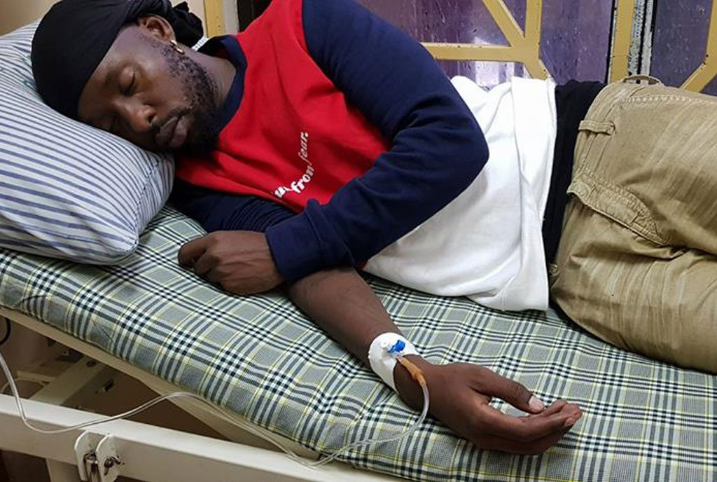 Eddy Kenzo Hospitalised once Again