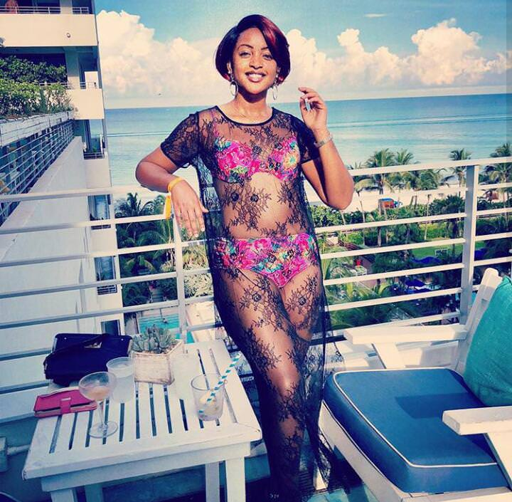 Princess Komuntale shows Off Hot Body in New beach Pics