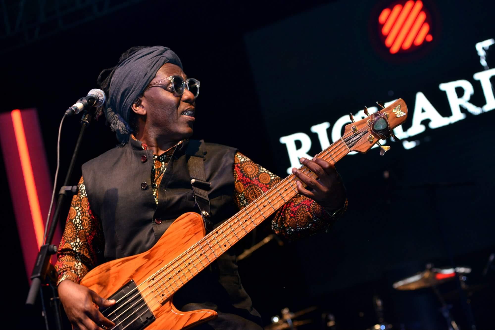 Richard Bona lights up Jazz Safari Stage