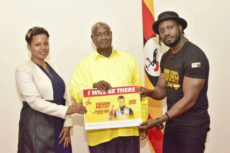 President Museveni Promises to Attend Bebecool concert in person