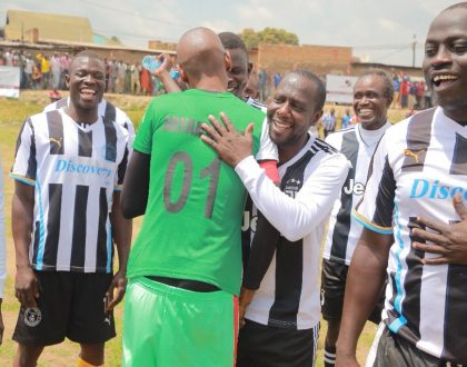 Bryan White Foundation defeats Ex Arua players in Friendly match.
