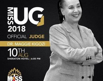 Doctor Maggie Kigozi Chosen as Miss Uganda Judge