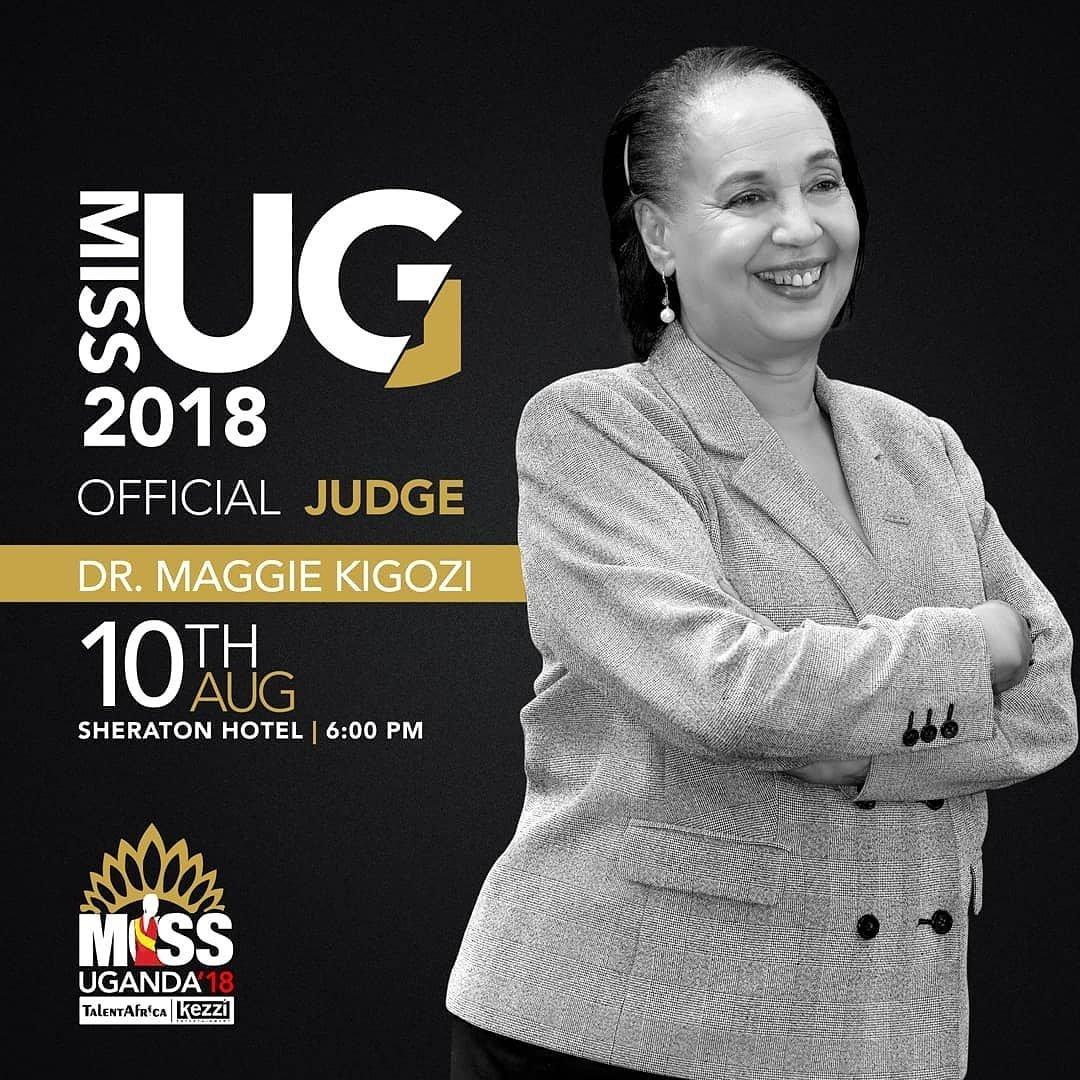 Doctor Maggie Kigozi Chosen as Miss Uganda Judge