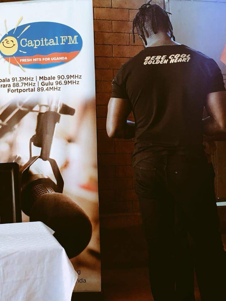 Capital FM and Beat FM Sponsor Bebe Cool's Golden Heart Concert