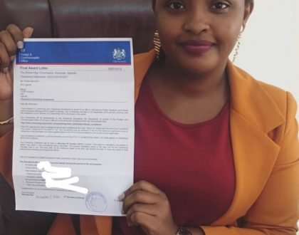 NTV's Sheila Nduhukire Receives Chevening Scholarship To Cardiff University, UK
