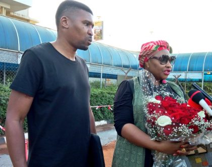 Yvonne Chaka Chaka Arrives in Uganda For Charity Concert