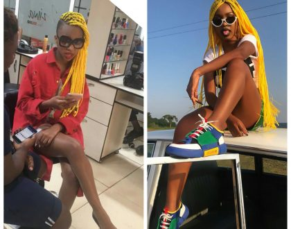 The Yellow Braid Game: Spice Diana vs Sheila Gashumba