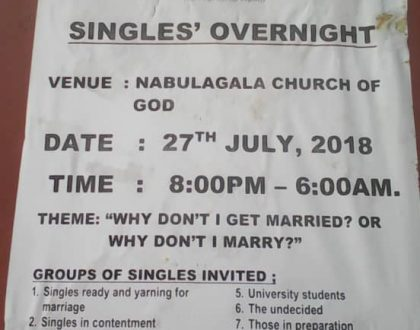 "Are you Single, illegaly ""Married"" and broken Hearted? Here is an overnight for You"