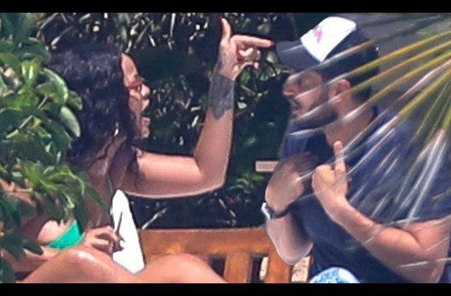 Rihanna Caught on Camera with Billionare boyfriend in Heated Argument