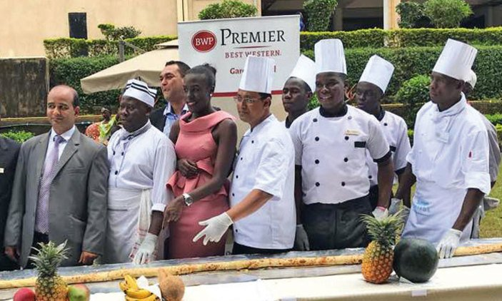 Entebbe Hotel Launches Uganda's Longest Rolex