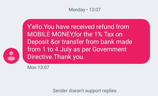Have you received your MTN Mobile Money Tax refund? - Ghafla
