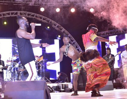 Bebe Cool Moves Crowds At Golden Heart Concert
