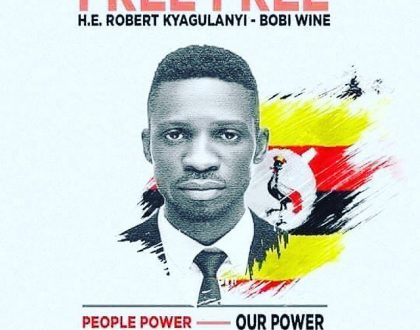 Singer turned MP Bobi wine Brutaly Beaten