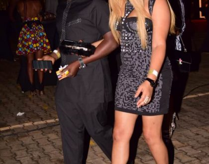 Nikita Bachu Shows up to the Golden Heart concert Smitten with New Bae