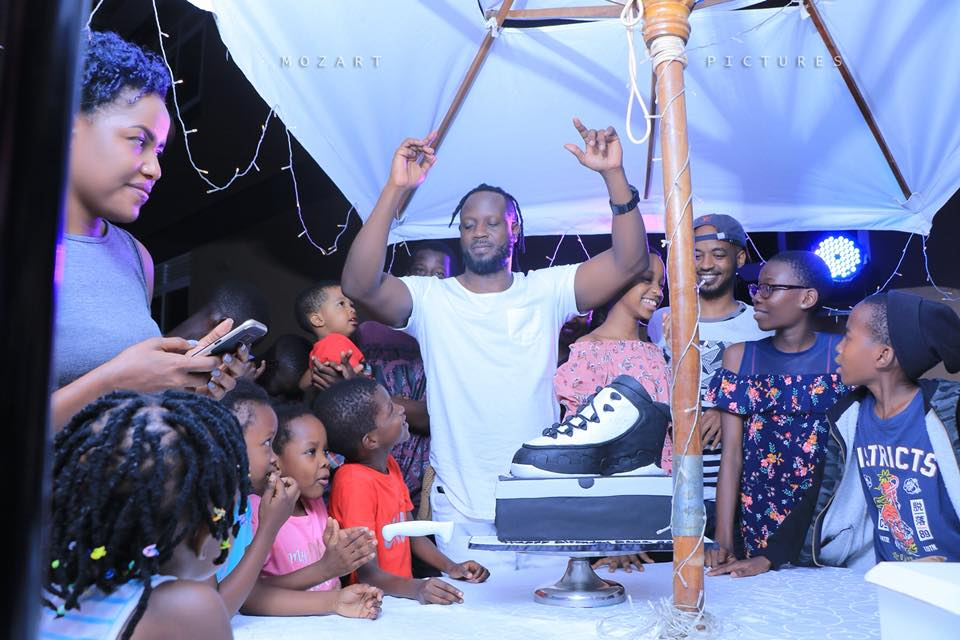 Bebe Cool Celebrates Surprise Birthday Party From Close Friends and Family