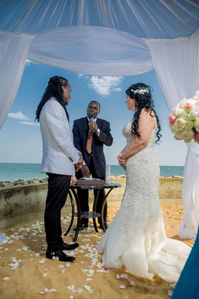 Dave Dash Marries lover in an Intimate ceremony