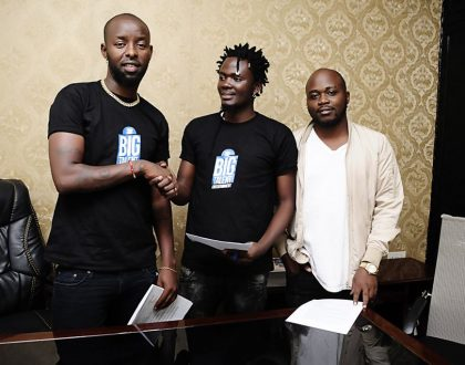 Eddy Kenzo's Big Talent Enteratinment Signs Up Elysha Mutebi