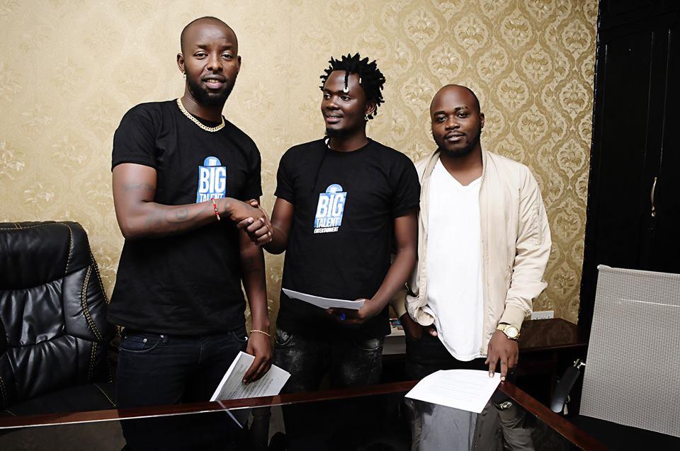 Eddy Kenzo's Big Talent Enteratinment Signs Up Elysha Mutebi