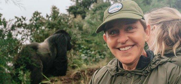 Ellen DeGeneres Shares Her Experience in Rwanda and Kenya On Her Internationally Watched Show